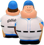 Baseball Man Stress Balls